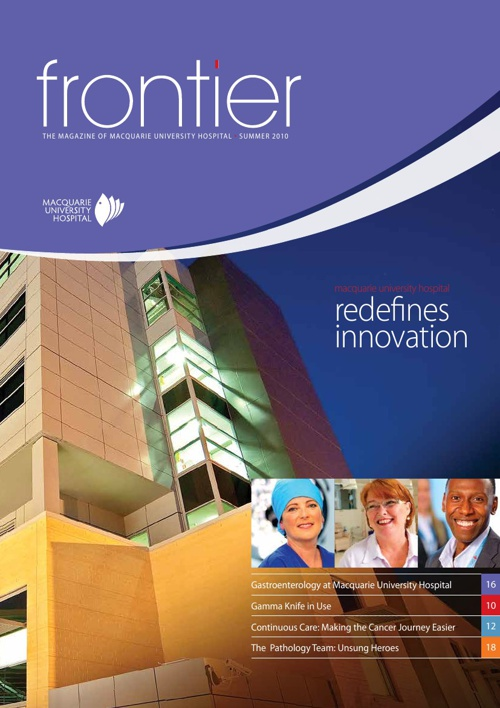 Frontier - Macquarie University Hospital, Summer 2010