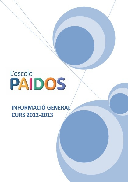 llibre informacio general