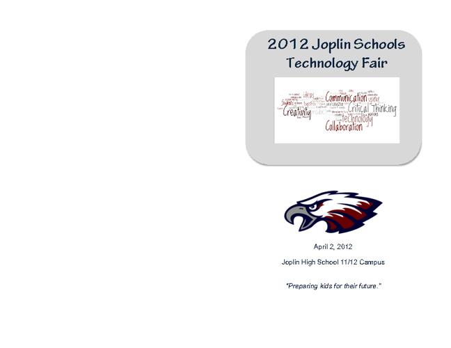 2012 Joplin Schools Technology Fair