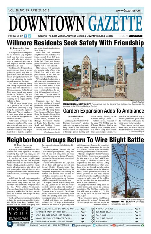Downtown Gazette  |  June 21, 2013