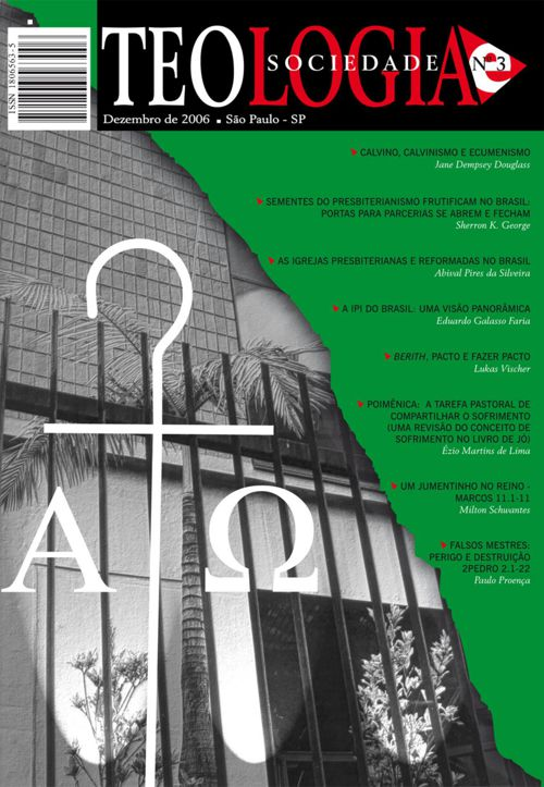 Revista Teologia e Sociedade nº 3