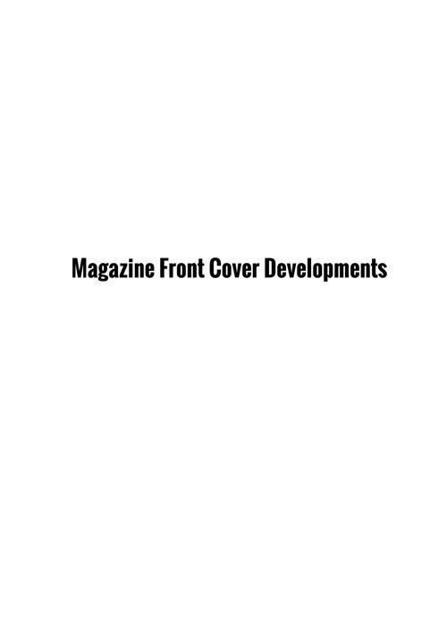 magazine developments