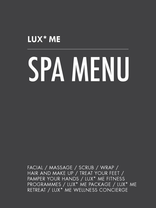 LUXMeSpa_Menu2016_English Version