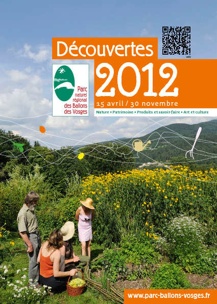 Calendrier découvertes 2012