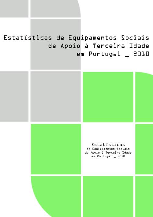 Estatística de Equipamentos Sociais de Apoio à Terceira Idade em