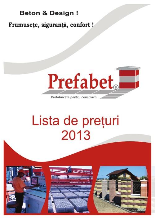 Catalog Produse Prefabet