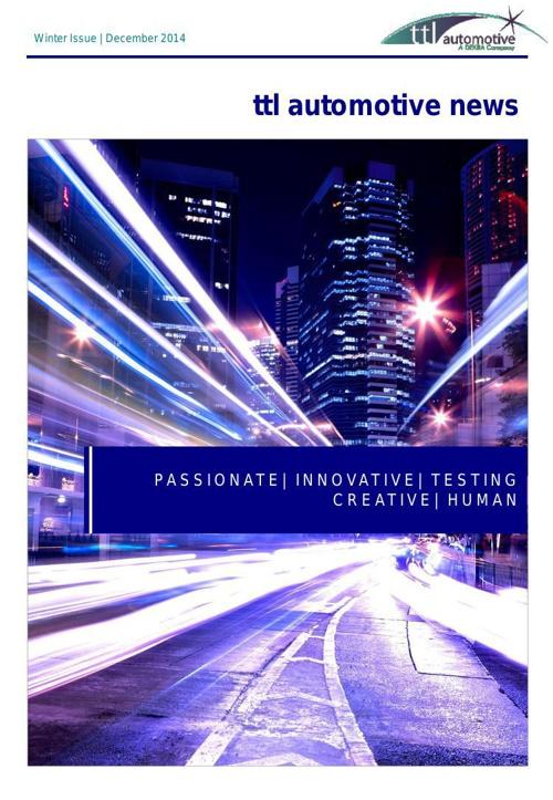 Newsletter Template - December 2014 TEST
