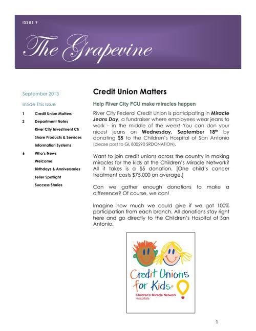 September 2013 Grapevine
