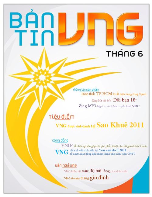 Ban tin VNG thang 6/2011