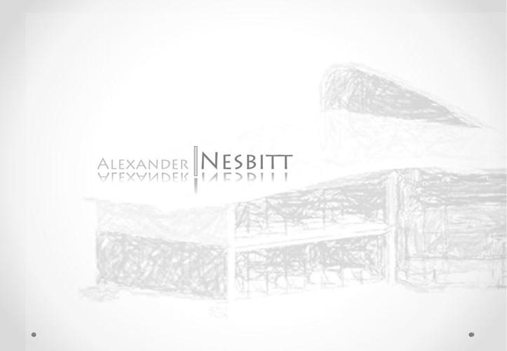 Alexander Nesbitt's - Portfolio