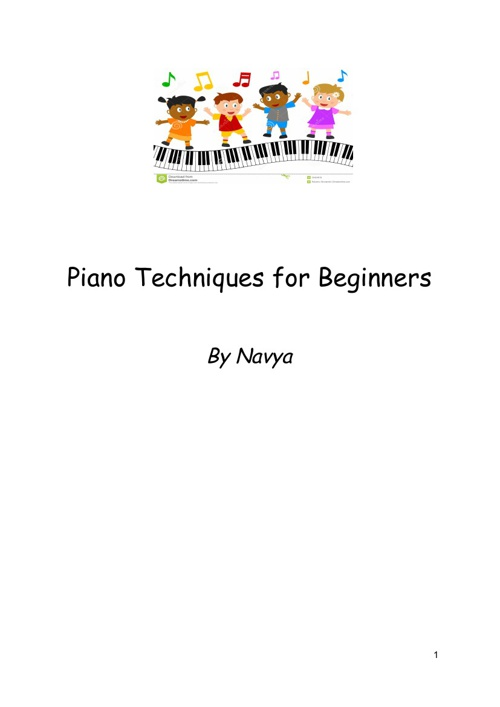Piano Techniques for Beginners