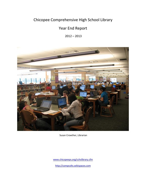 Year End Report 2012 to 2013