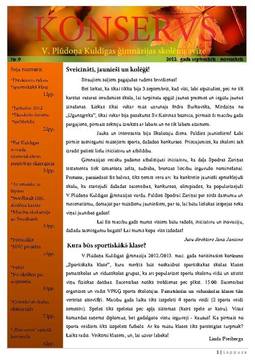 Konservs 2012./2013.m.g. Nr.1
