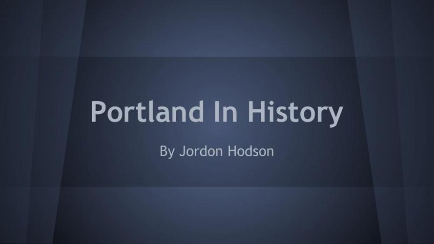 Portlandinhistory