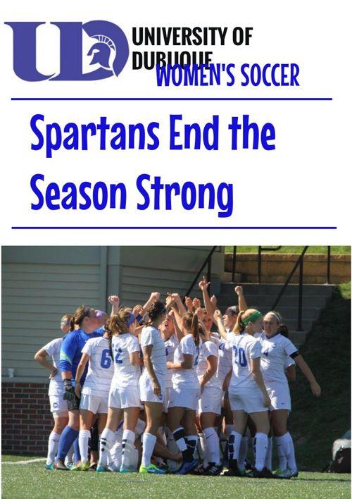 UD Women's Soccer Weeks 5-6