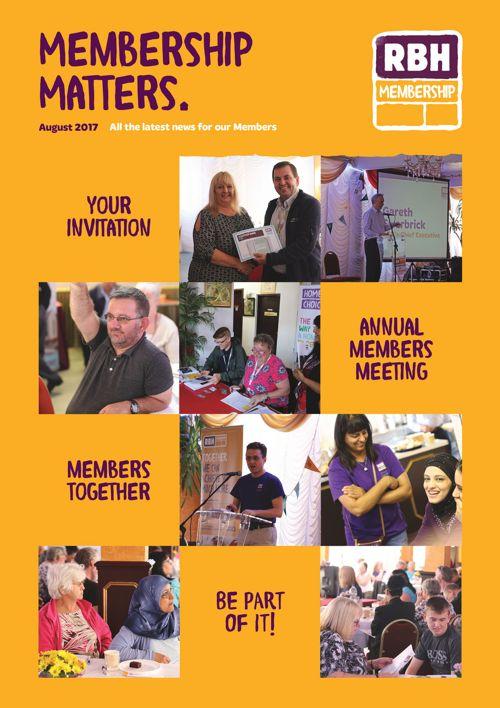RBH Membership Matters: August 2017