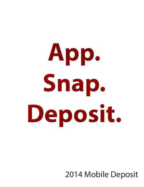 2014 Mobile Deposit