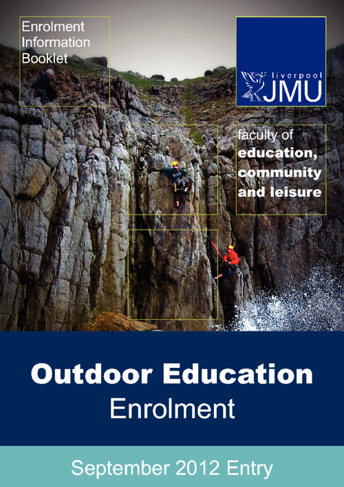 Outdoor Eduction 2012