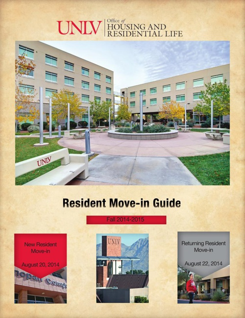 Fall 2014 Move-in Guide