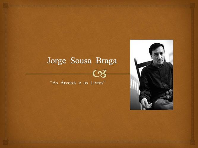 Biografia - Jorge Sousa Braga