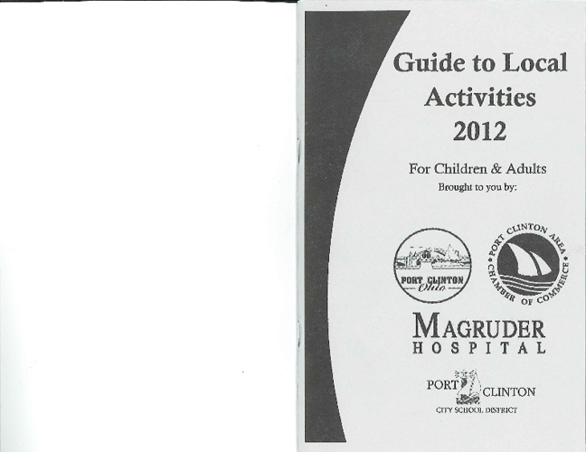 Guide to Local Activities 2012