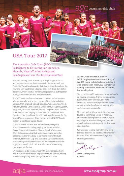 2017 USA Tour Program eflip