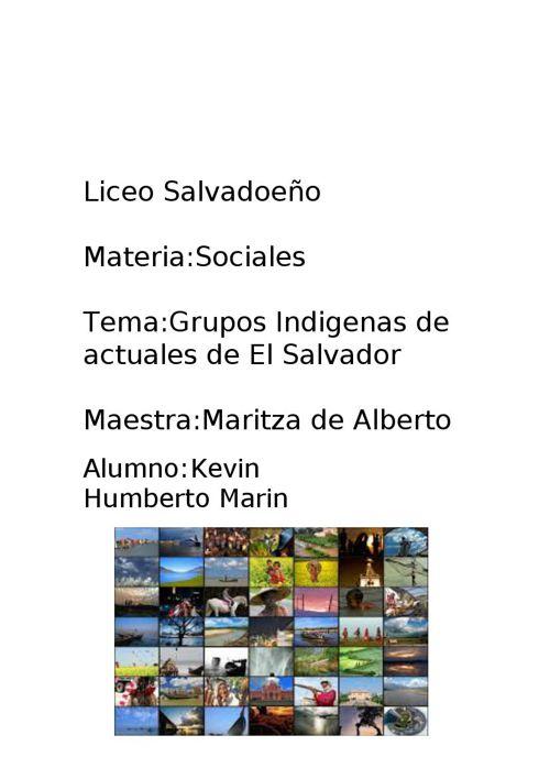 Grupos de indigenas