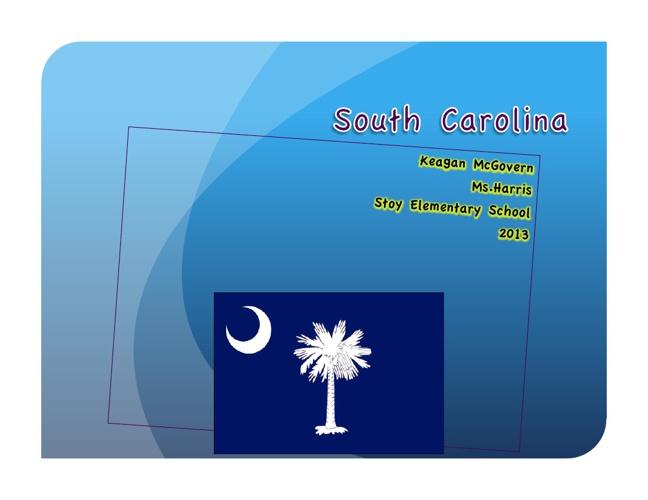 South Carolina by Keagan