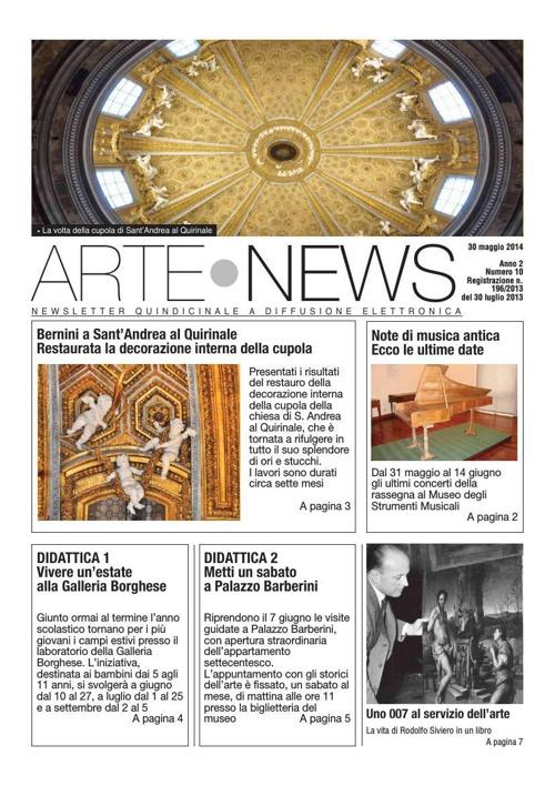 """""""Arte News"""" - 30 maggio 2014"""