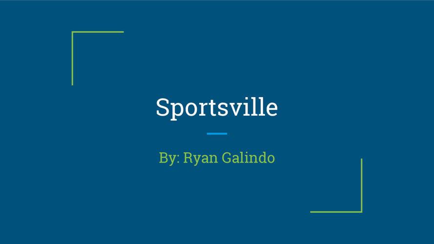 Sportsville by Ryan