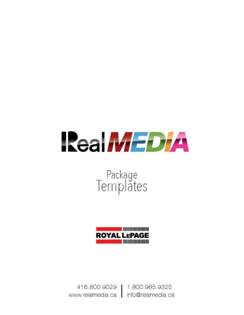 Royal LePage Templates