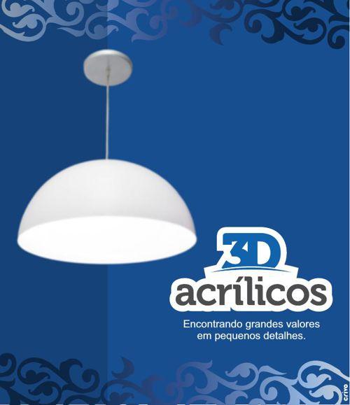 AMS Group - 3D Acrílicos - Luminárias