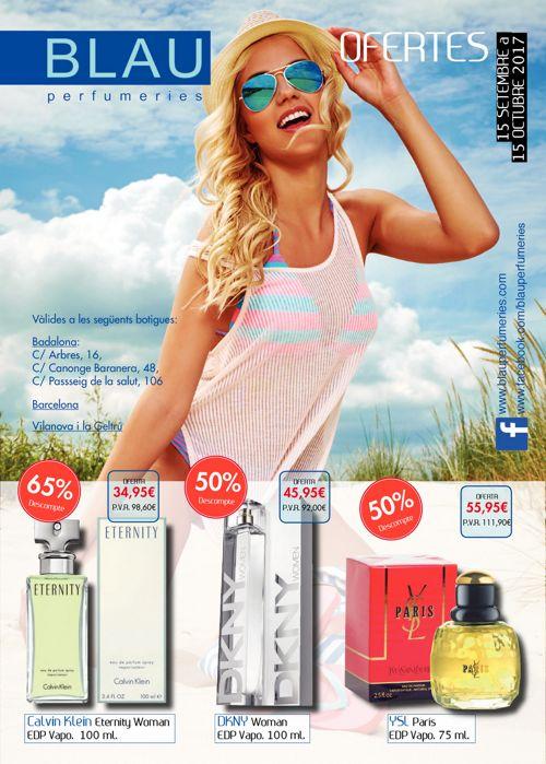 Folleto septiembre Blau Perfumeries