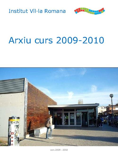 Arxiu Curs 2009 - 2010