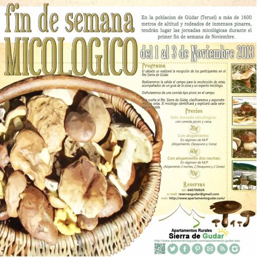 Jornadas Micológicas, Gúdar (Teruel)