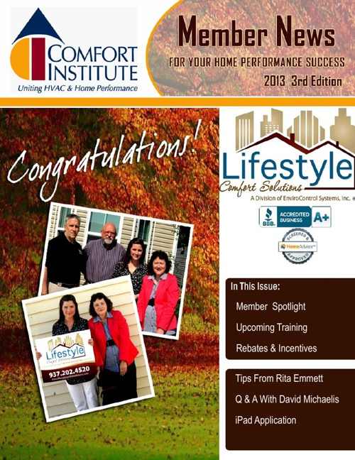 Comfort Institute's 3rd Edition Newsletter