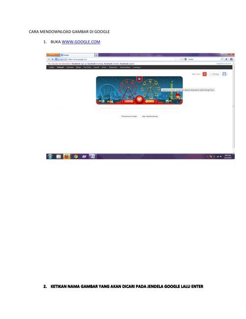 cara download gambar lewat google