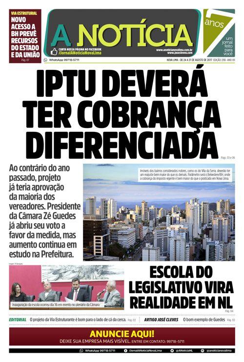 Jornal A Notícia - Edição 298