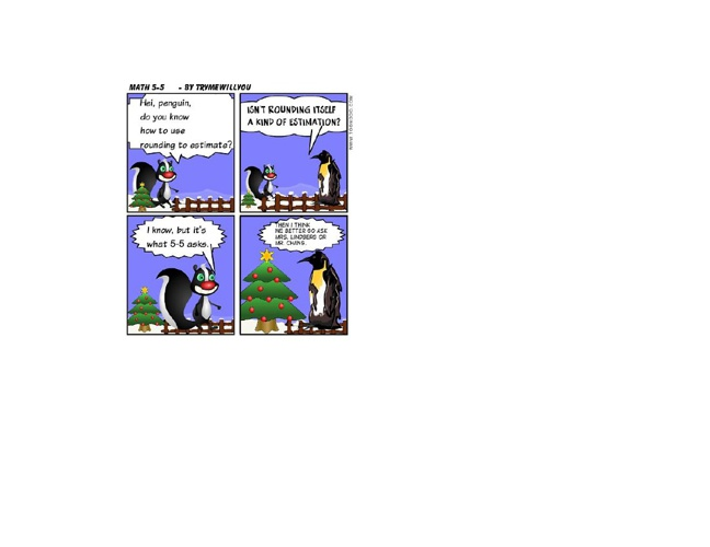 Math comic sample