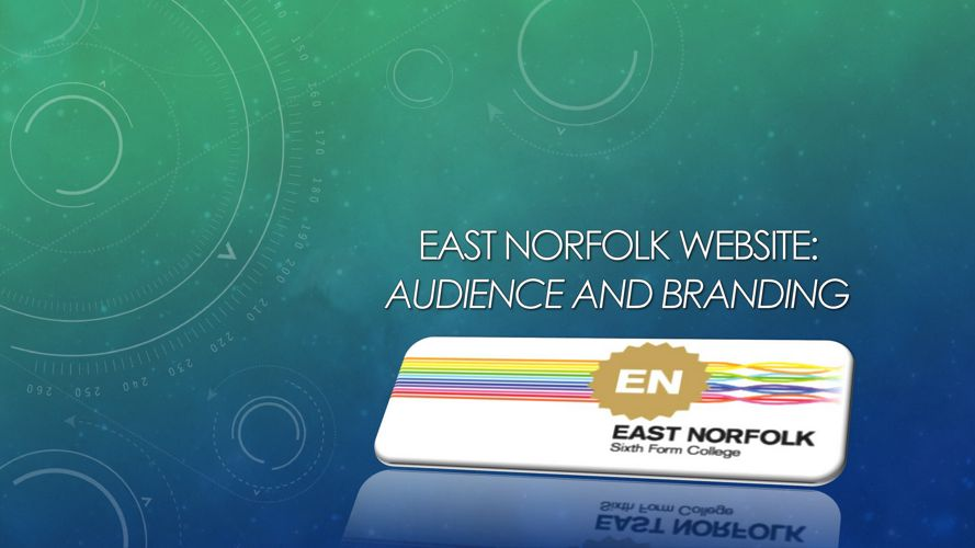 East Norfolk Website Brand Identity