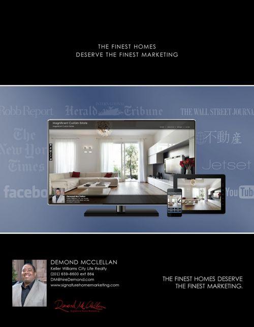 Demond McClellan Signature Home Marketing
