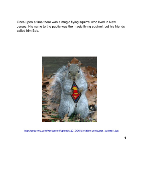 The Magic Flying Squirrel
