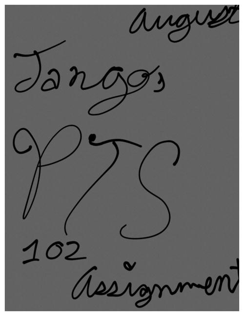 Jango's PTS 102 Assignment
