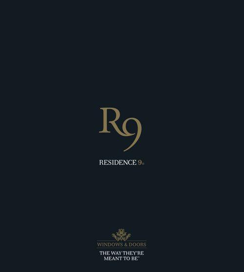 Residence 9 [R9] Brochure 2017