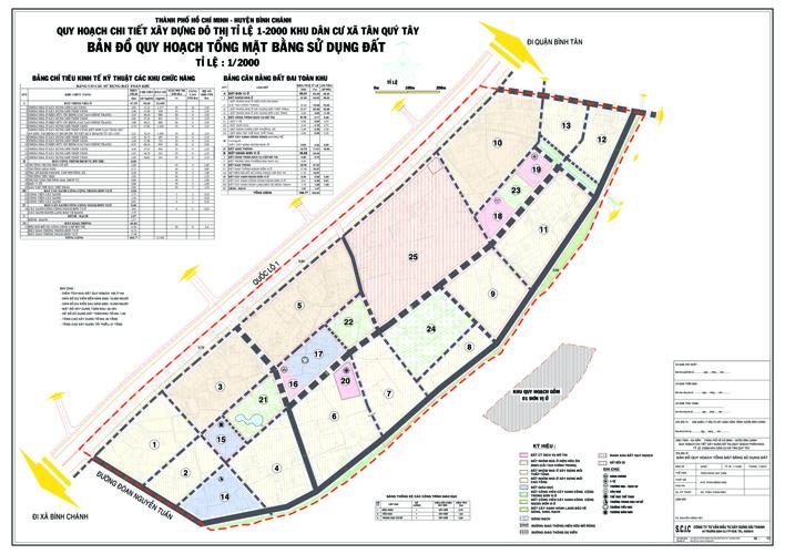 Đồ án quy hoạch Khu dân cư xã Tân Quý Tây