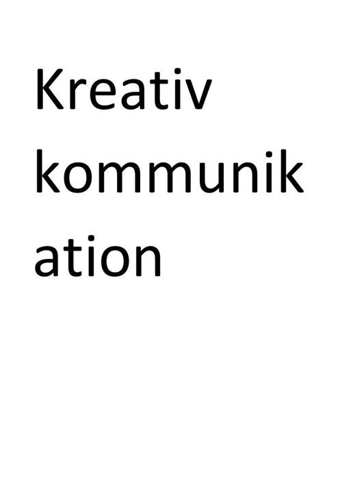 Kreativ kommunikation