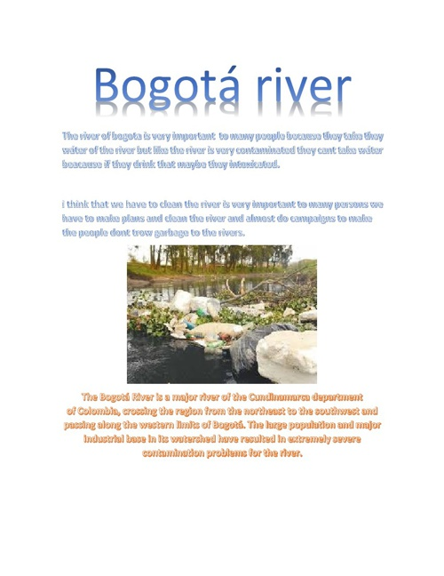 BOGOTA RIVER