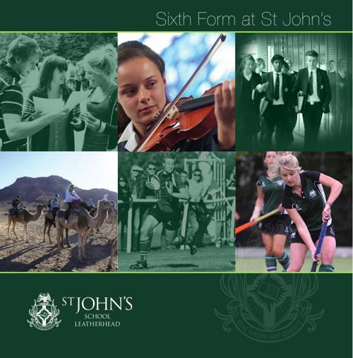 St John's Sixth Form Brochure