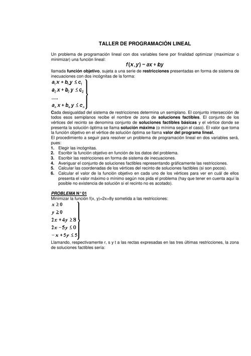 TALLER_DE_PROGRAMACION_LINEAL (IDAT PIURA)