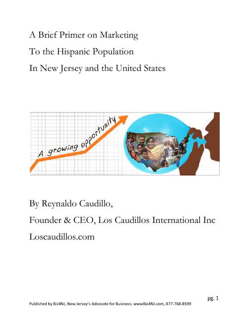 Hispanic Marketing in New Jersey